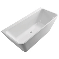 DELTA 1500 Back-to-Wall Acrylic Bath