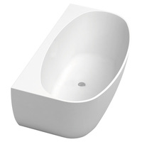 KEETO 1700 Back-To-Wall Acrylic Bath